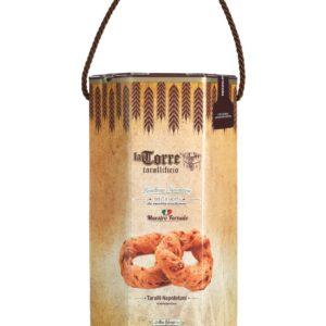 Confezione Regalo Taralli Napoletani Sugna e pepe